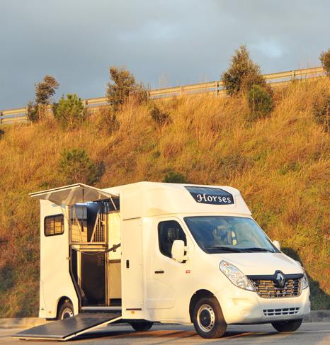 Camion chevaux Ameline Haras : sécurité, confort, robustesse.