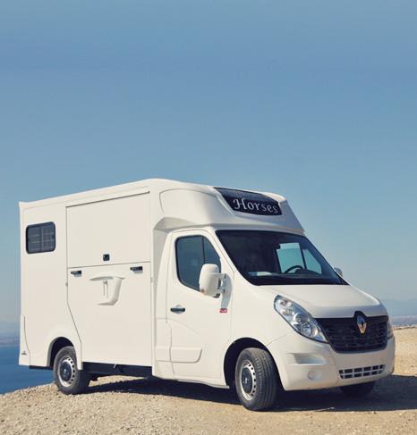 Camion chevaux Ameline Select : élégance, confort, robustesse.