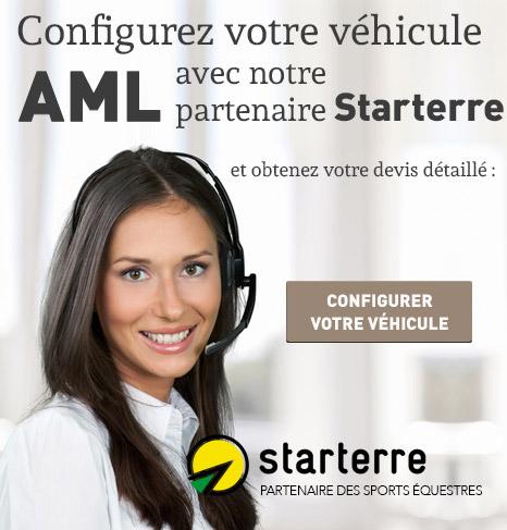 Configurez votre véhicule AML avec notre partenaire Starterre